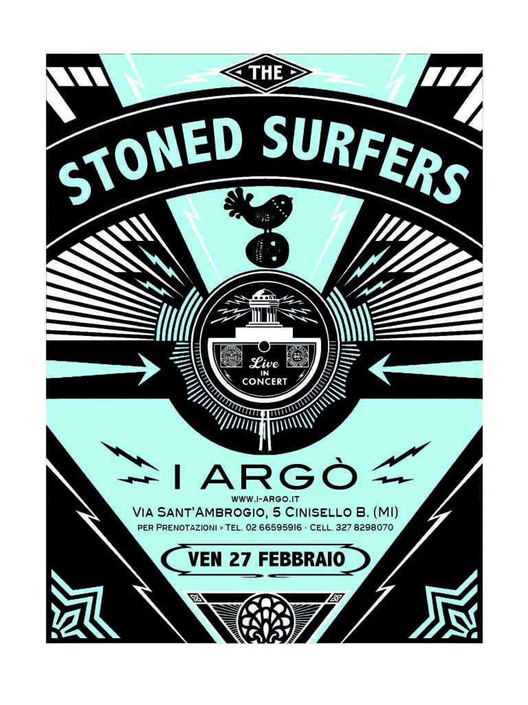 The stoned surfers 27.02.15